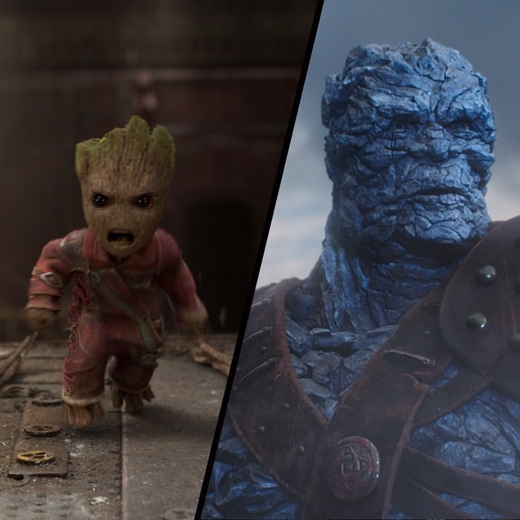 Korg and Groot