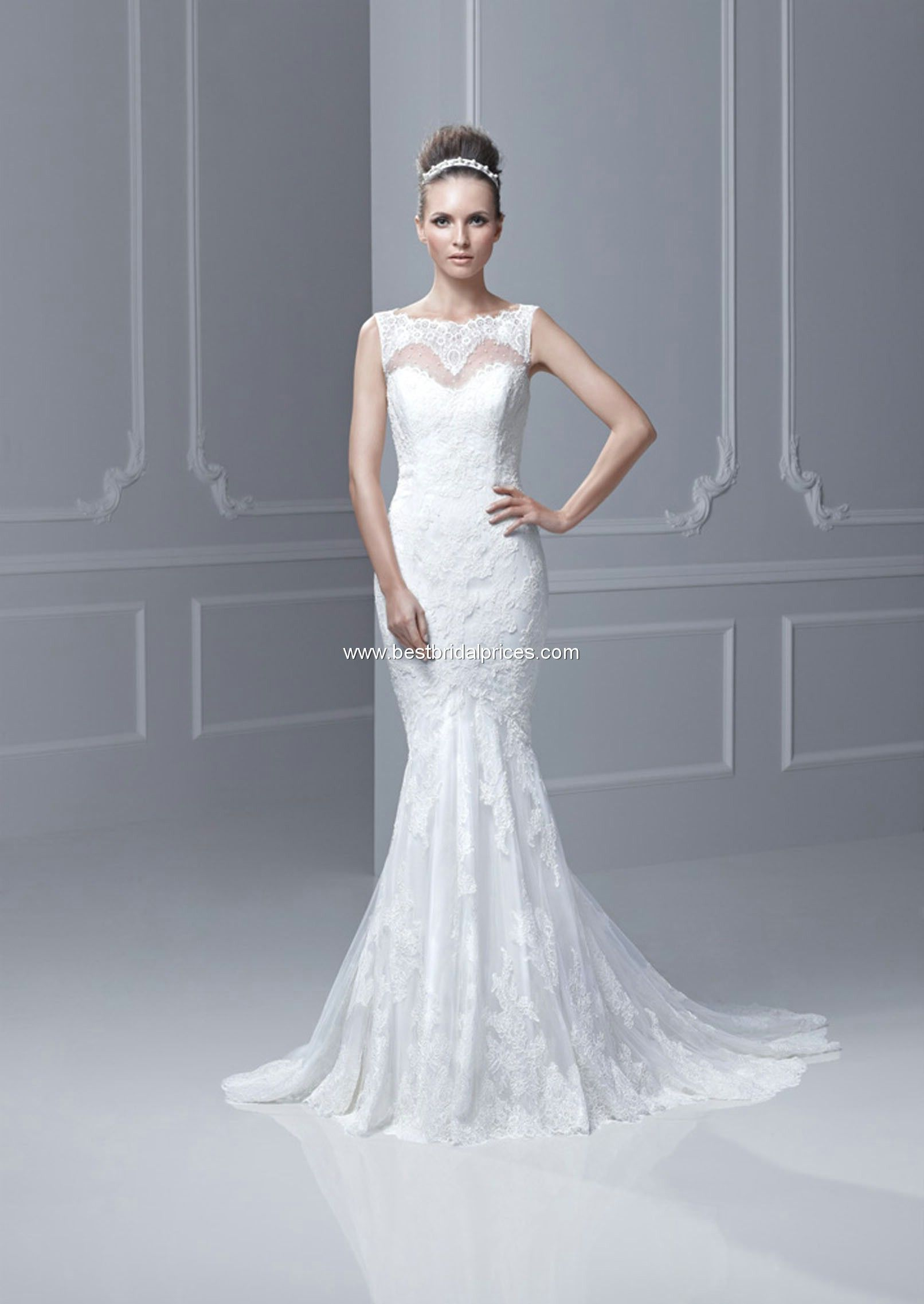 Love the neckline blue by enzoani wedding dresses style fada
