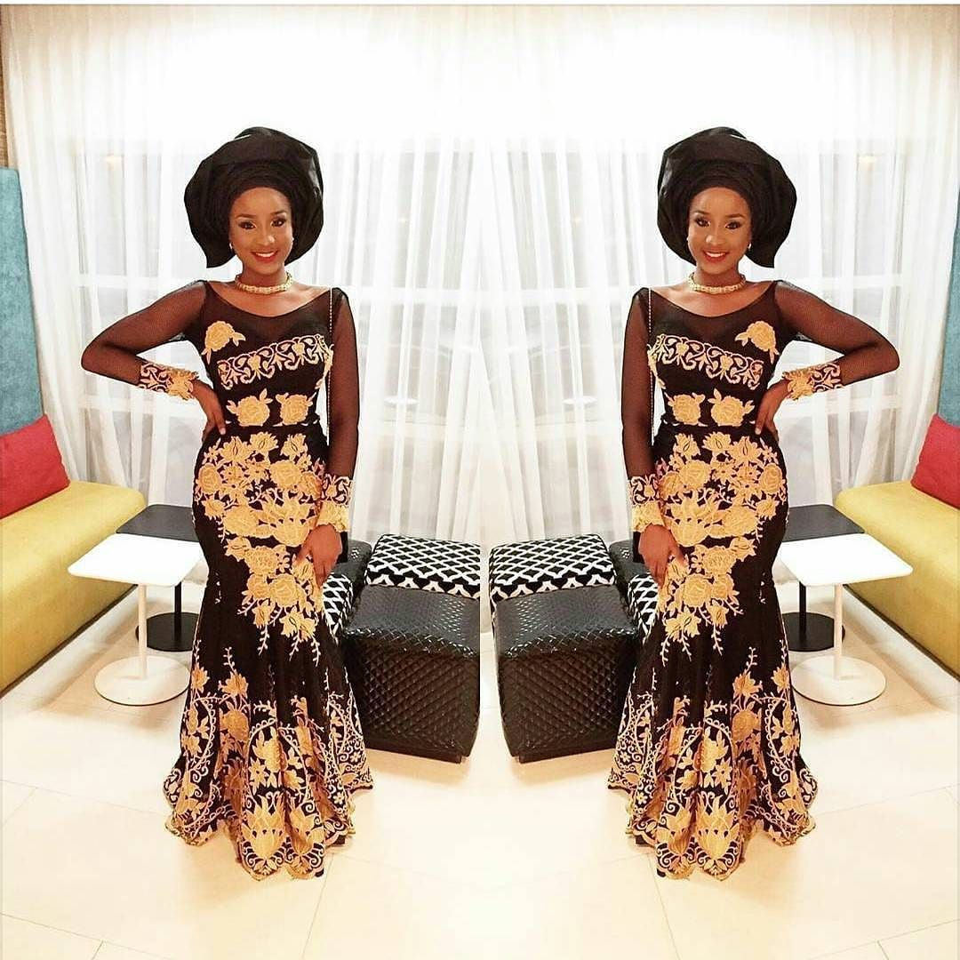 Lace dress nigeria  Pin by Select A Style on Fashionistaus  Pinterest  Africa Pose