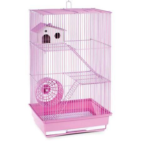 Prevue Pet Products 3 Story Hamster Gerbil Cage Light Blue Walmart Com Small Animal Cage Pet Cage Small Pets