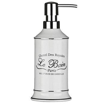 Le Bain White Ceramic Lotion Dispenser At Victorian Plumbing Uk Bathroom Soap Dispenser