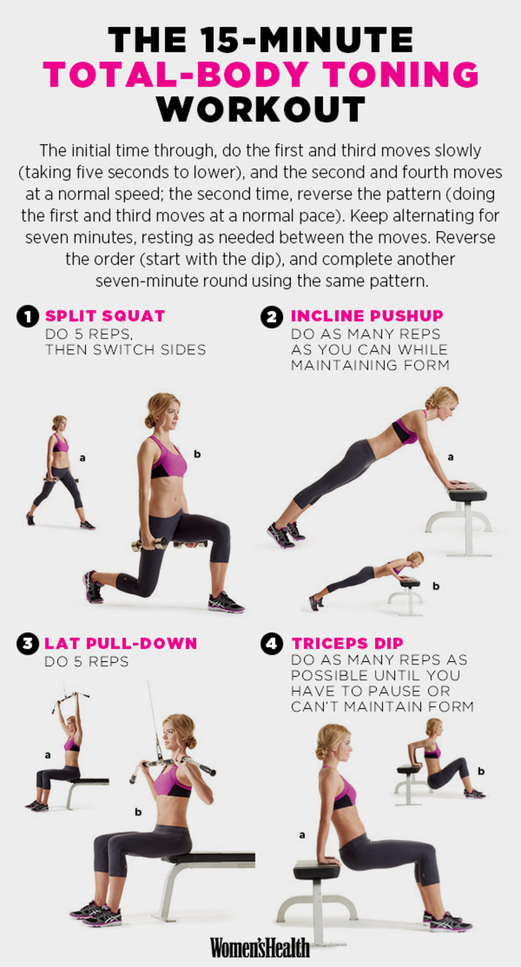 The Best 15-Minute Workouts for 2015   Health   15 minute ...