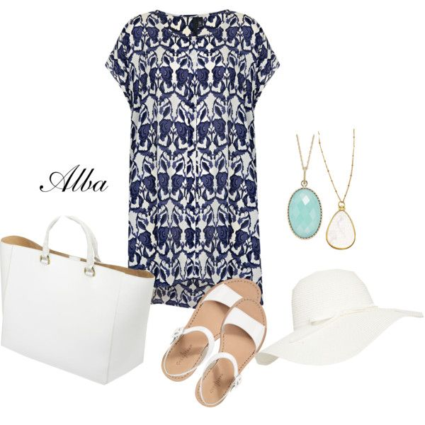 """seatime"" by alba-tuttel on Polyvore"