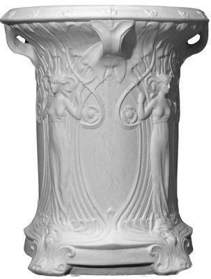 Dess Table Base Cast Plaster Pedestal