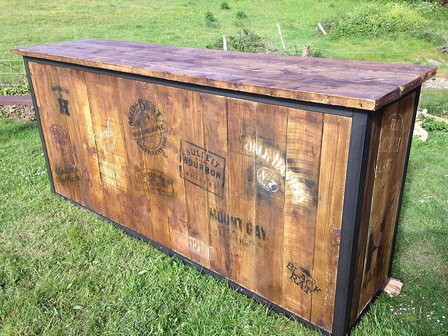 Mobili Pallet ~ Mobile bar made from wooden pallets google search ideas for