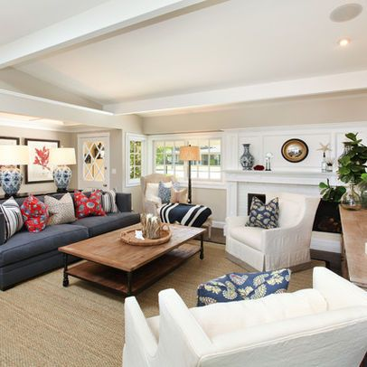 Cape Cod Living Room Design Ideas Pictures Remodel And Decor Beachy Living Room Living Room Orange Glamorous Living Room