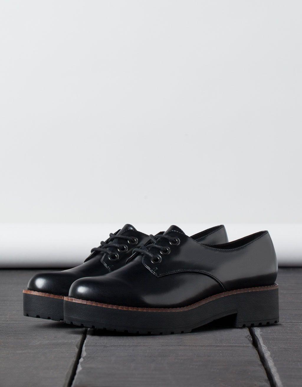 Find Zapato Piel Brogue con Calados para Hombre, Negro (Black), 43 EU