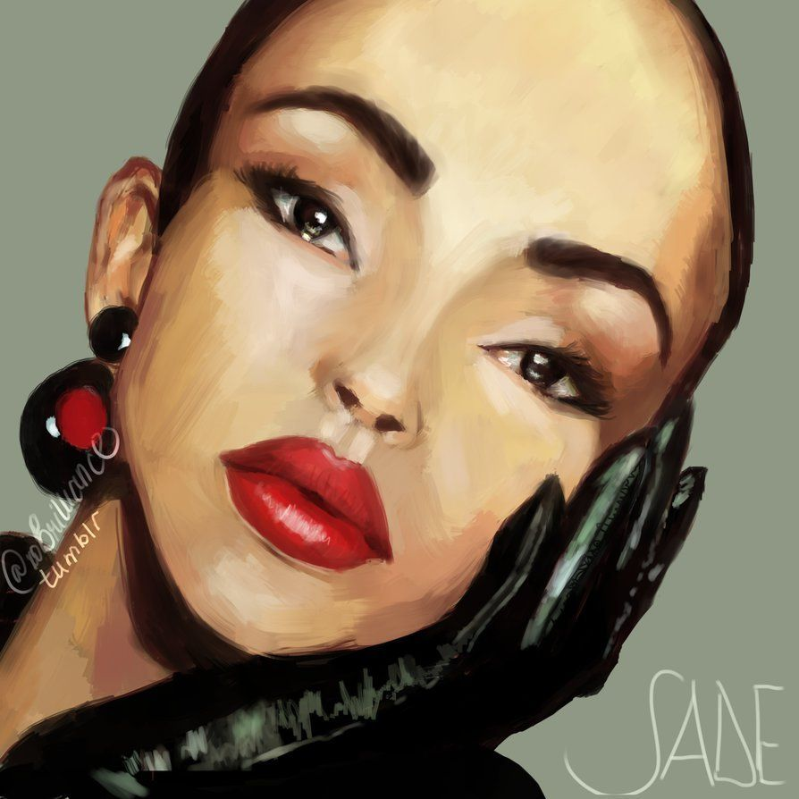 SADE by LaForeverxox - #art #black #British #sade #woc #woman