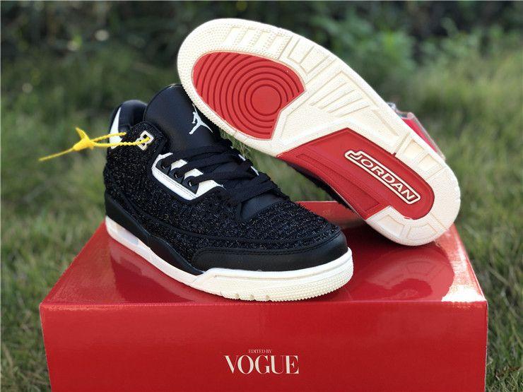 "7ea2a9007617ad Vogue x Air Jordan 3 ""AWOK"" bq3195 001"