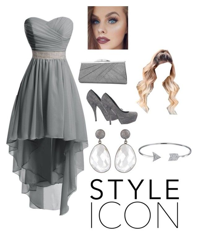 """""""Hoco 2016"""" by alivea-burgess ❤ liked on Polyvore featuring Yves Saint Laurent, Jessica McClintock and Bling Jewelry"""