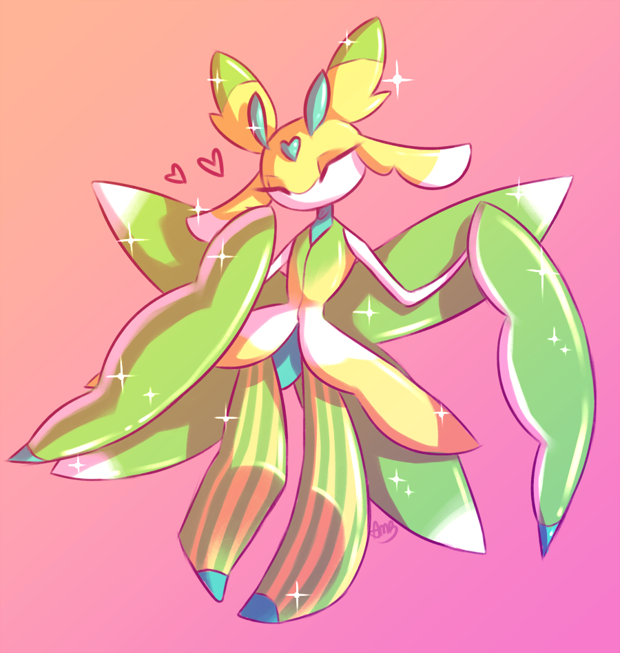Lurantis - Pokémon - Image #2029512 - Zerochan Anime Image