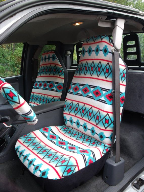 1 Set Of Southwest Tribal Print Seat Covers And By Chailinsews