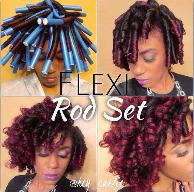 flexi rod natural hair styles grow lust worthy hair faster naturally 5290 | 54f0158624e9a524914a254a9dbc983f