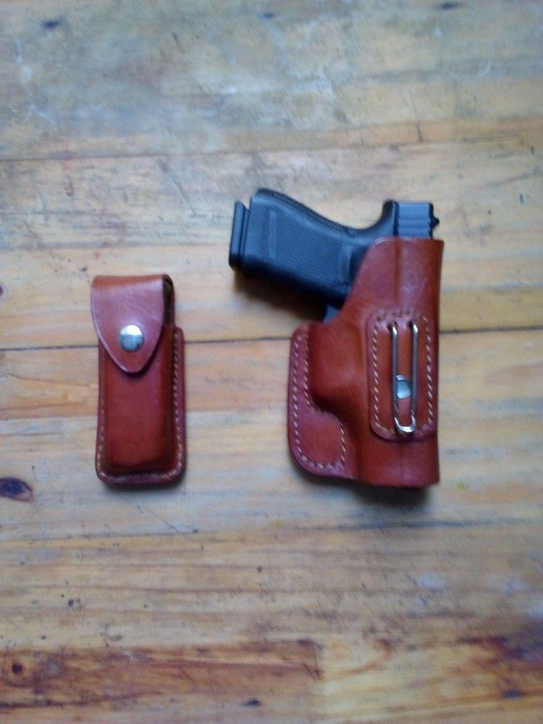 ป กพ นในบอร ด Custom Leather Guns Gomez Cueros