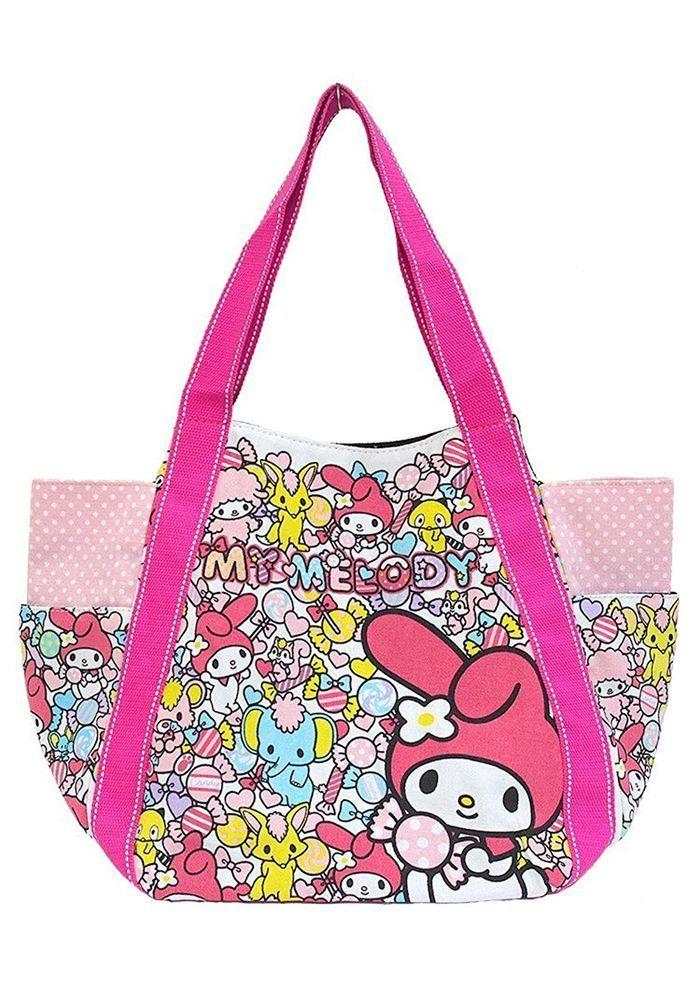 2f5fb31f3eda New! My Melody Balloon Tote Bag Japan limited Sanrio F S
