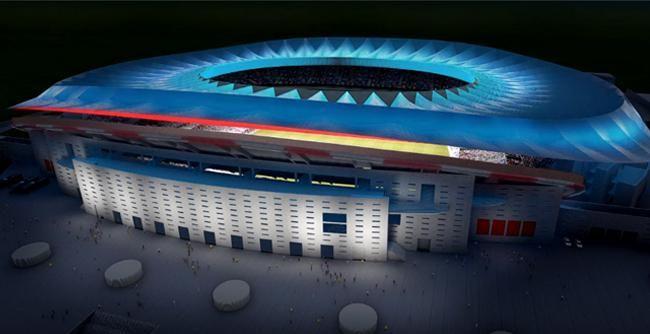 FOTO: Atlético Madrid bude mať štadión novej generácie. Pôjde o skutočný skvost | Fotogaléria | sport7.sk