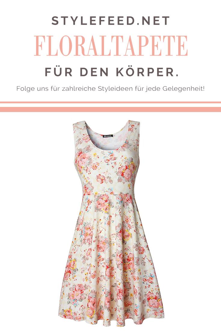 Vinatge Sommerkleider mit Floralprint sind wieder voll im ...