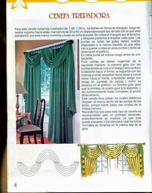 curtain | Cortinas y cenefas en 2018 | Pinterest | Curtains, Window ...