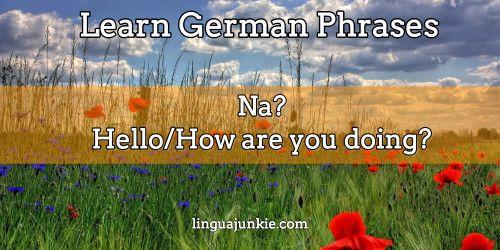 Say hello in german greetings german language pinterest german say hello in german greetings hello ingerman language m4hsunfo