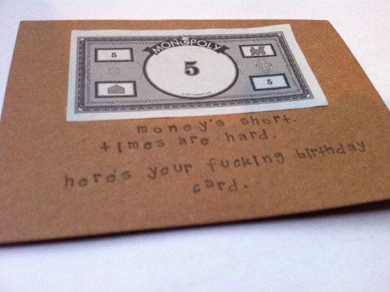 Funny birthday card monopoly card humorous by elephantsnever4get funny birthday card monopoly card humorous by elephantsnever4get bookmarktalkfo Choice Image