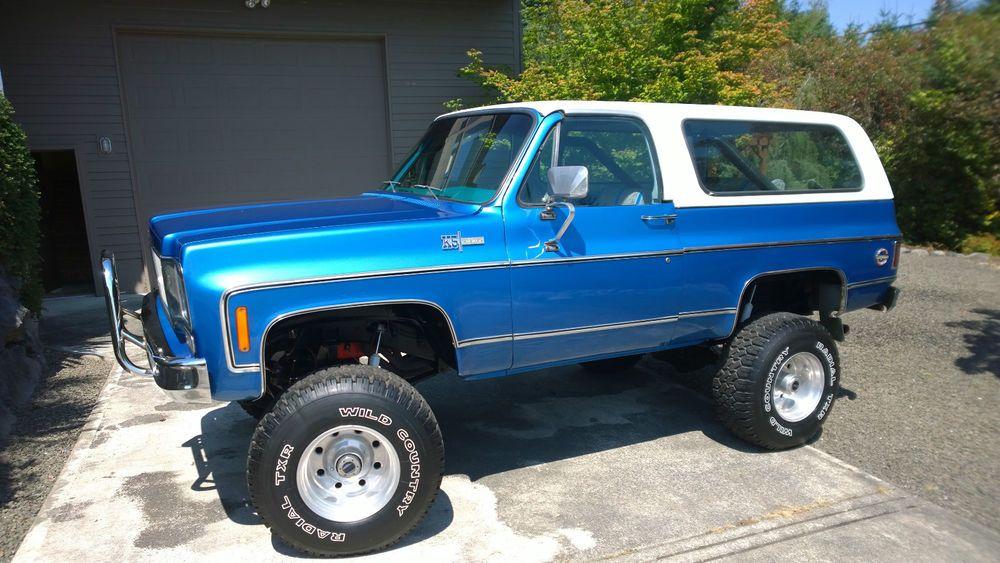 Chevrolet Blazer Blazer K5 4x4 Chevrolet Blazer Chevy Blazer