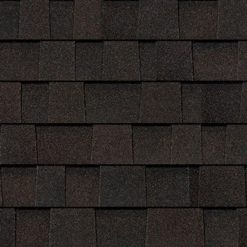 Best Oakridge® Shingles Artisan Colors Black Walnut With 400 x 300