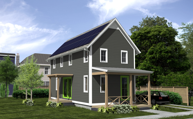 Low Budget Home Design Keeps It Simple Saves Energy Earthtechling House Design Architecture Sustainable Architecture