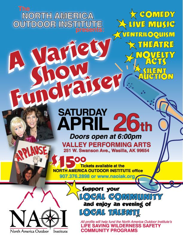 Variety show fundraiser Fundraising, Unique fundraisers