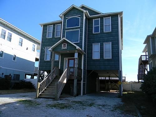 Narnia Oceanfront House Surf City Topsail Island Rentabeach City House Surf City Topsail Island Surf City