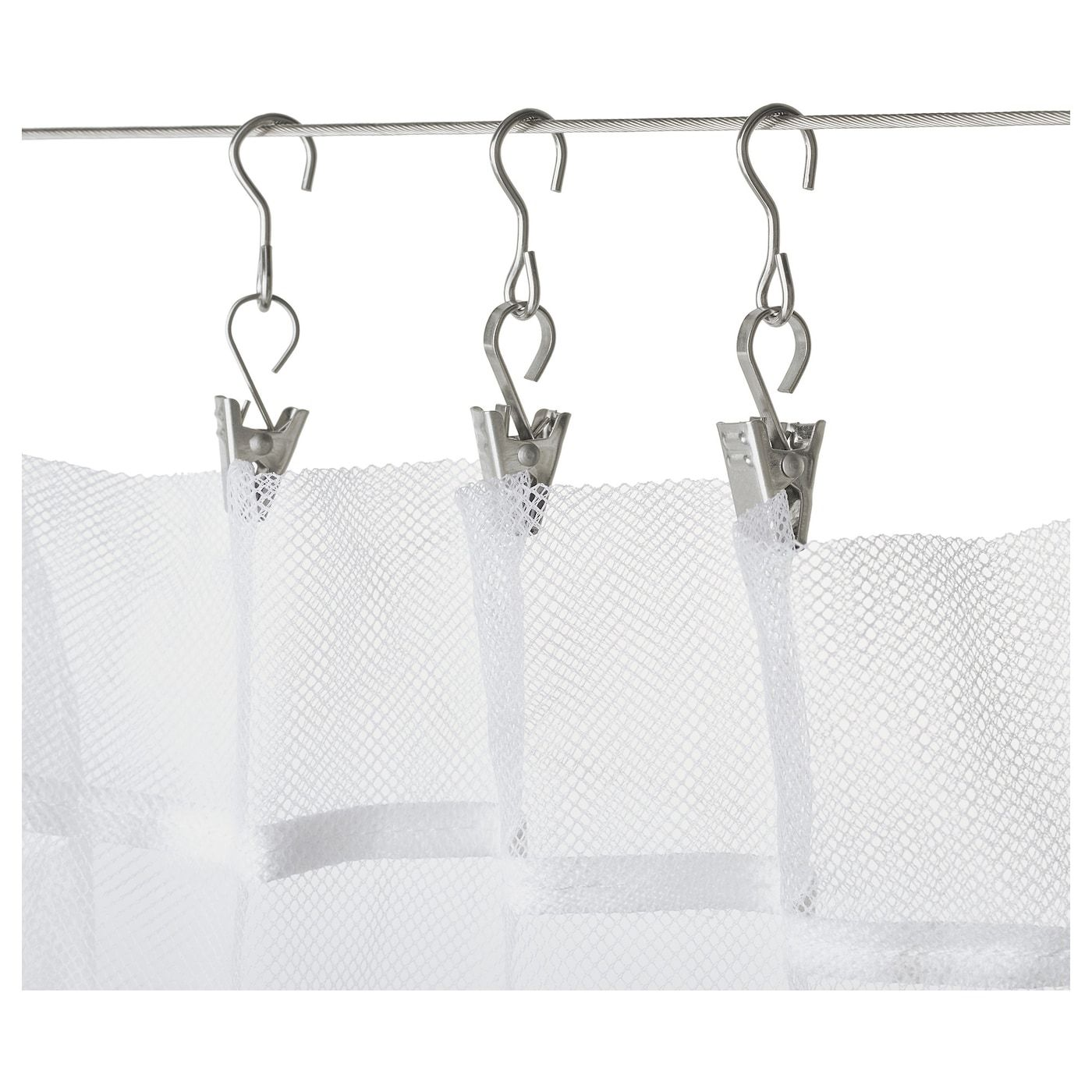 Ikea Tringle Rideau Sans Percer riktig crochet de rideau avec pince 24 pièces | rideaux ikea