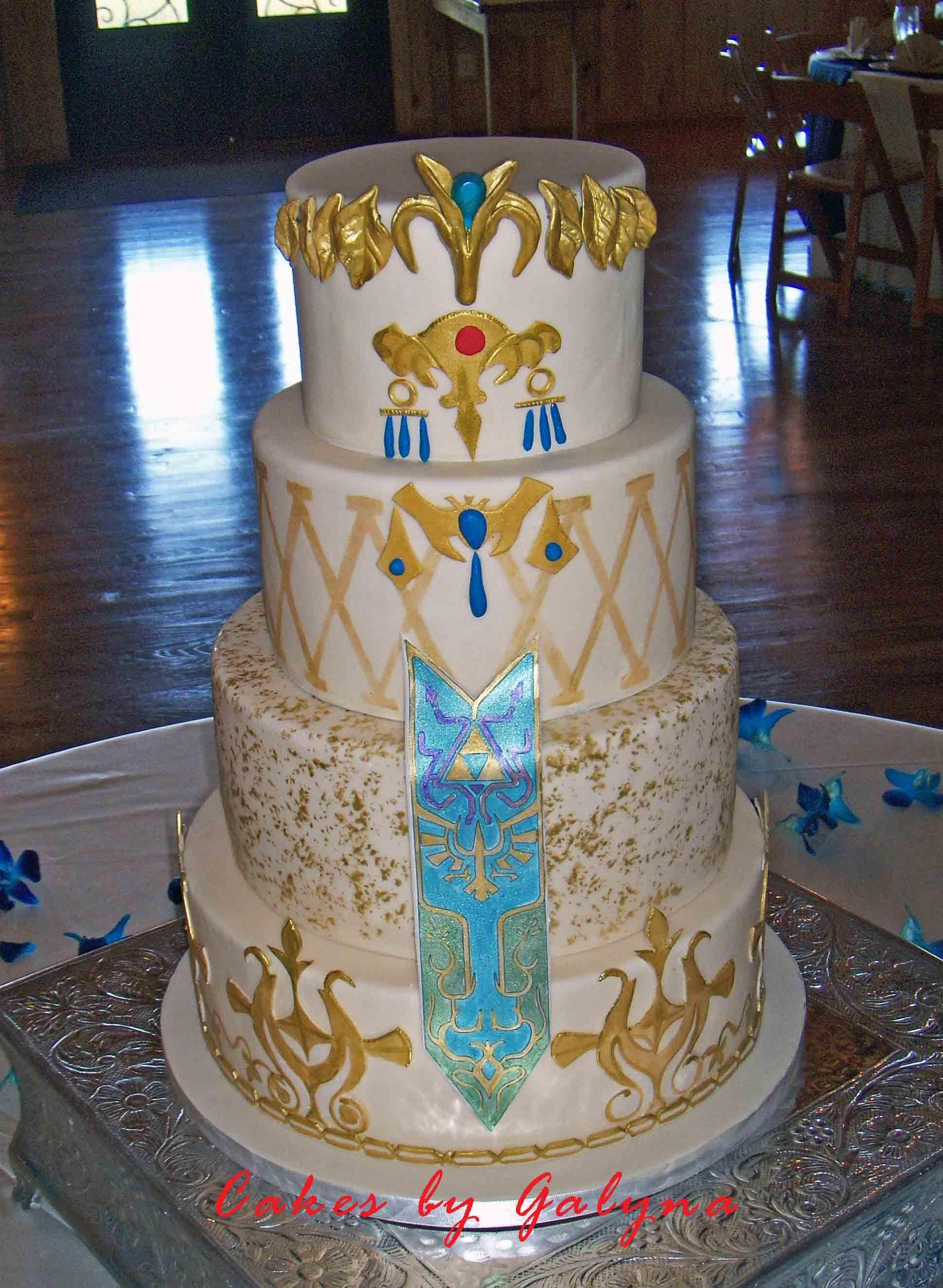 Legend Of Zelda Wedding Cake Cakes By Galyna Wedding Wedding