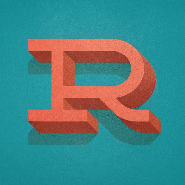 R Type Alphabet Letters Words Typefaces Do You