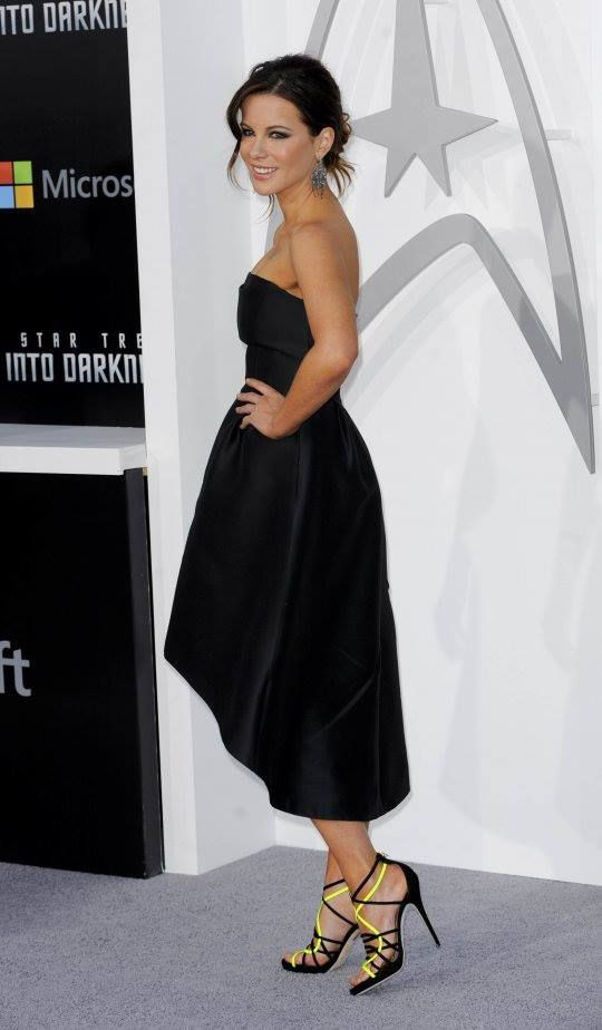 Accessories Black Strapless Dress