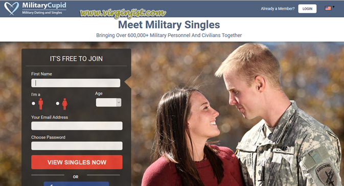 Online dating for military men