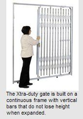 Retail Storefront Security Folding Gates Commercial Scissor Security Gate Storefront Xtra Duty Security Re Security Gates Window Security Retractable Gate