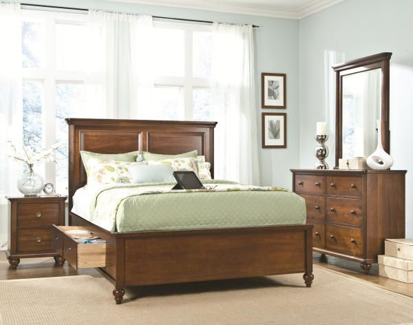 Southbrook collection solid maple proudly made in - Contemporary maple bedroom furniture ...