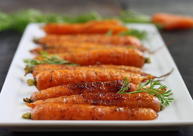 Spice Roasted Carrots  You can imagine this spice blend would be great with lots of vegetables but those with natural sweetness like carrots and sweet potatoes are a natural fit. Try roasting halved onions too, or cauliflower florets. Depending on the size of your vegetables, watch the roasting time and toss them once during cooking.        1 large bunch of fresh carrots, tops still attached  2 tbsp fruity extra virgin olive oil  1/2 tsp packed brown sugar   1/2 tsp baharat spice b...