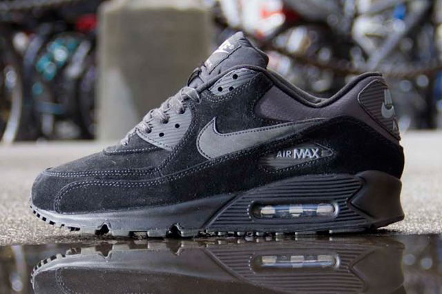 sports shoes 4fec6 557b1 ... NIKE AIR MAX 90 PREMIUM (CHARCOAL SUEDE) ...