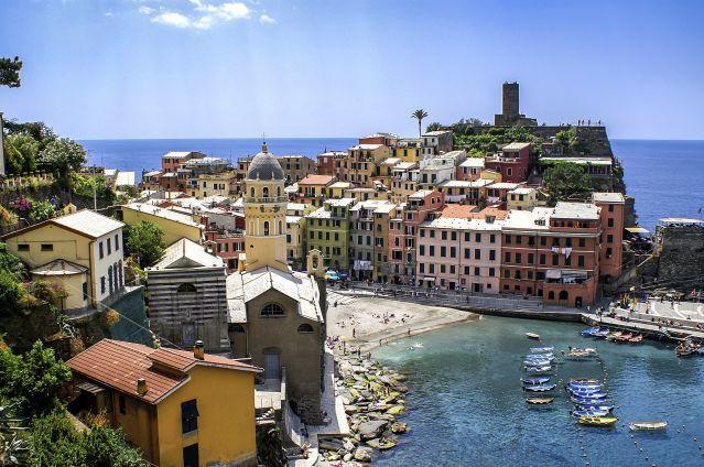 Le Parc National Des Cinque Terre Cinque Terre Italie Et