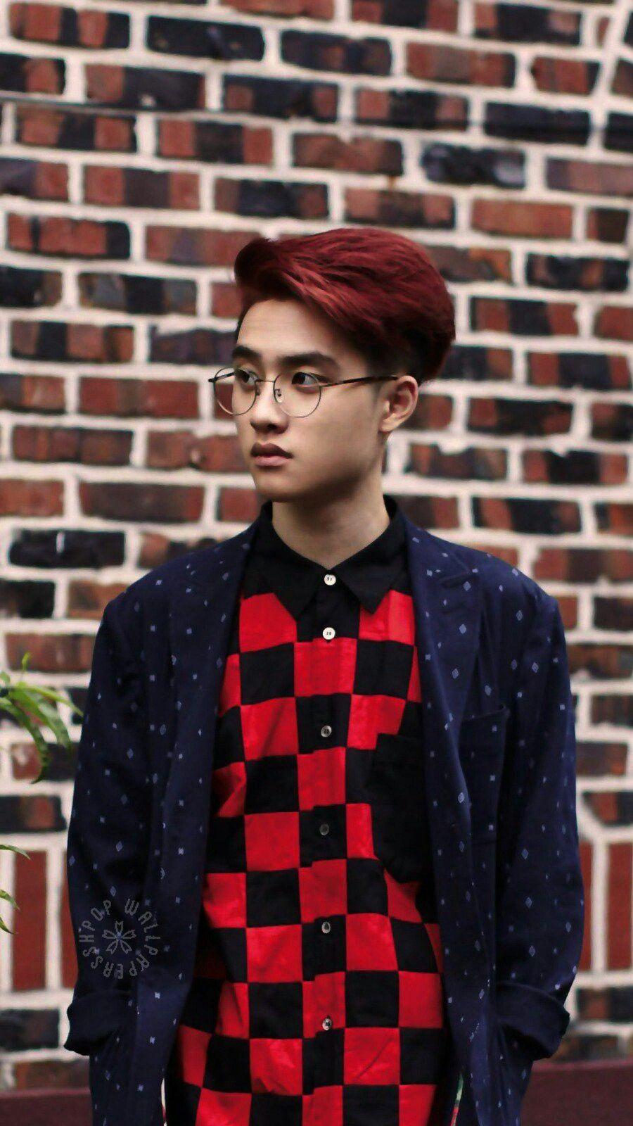 Chanyeol Exo Red Hair