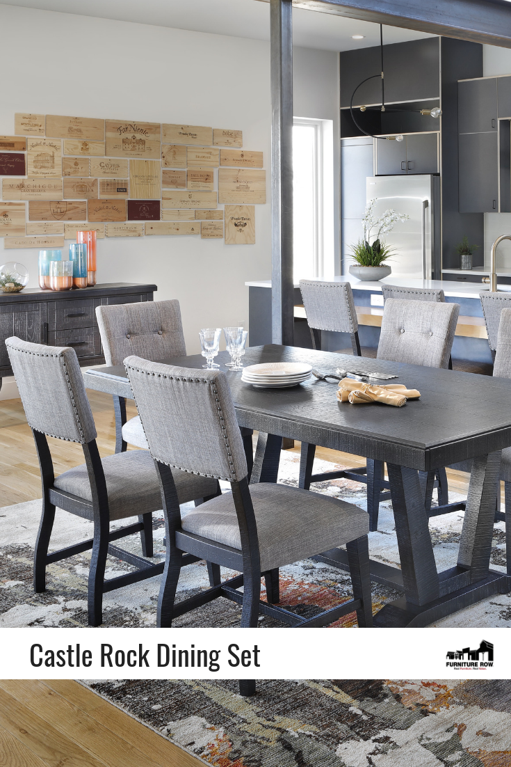 Castle Rock 5 Pc Dining Room Set Dining Room Style Dining Room