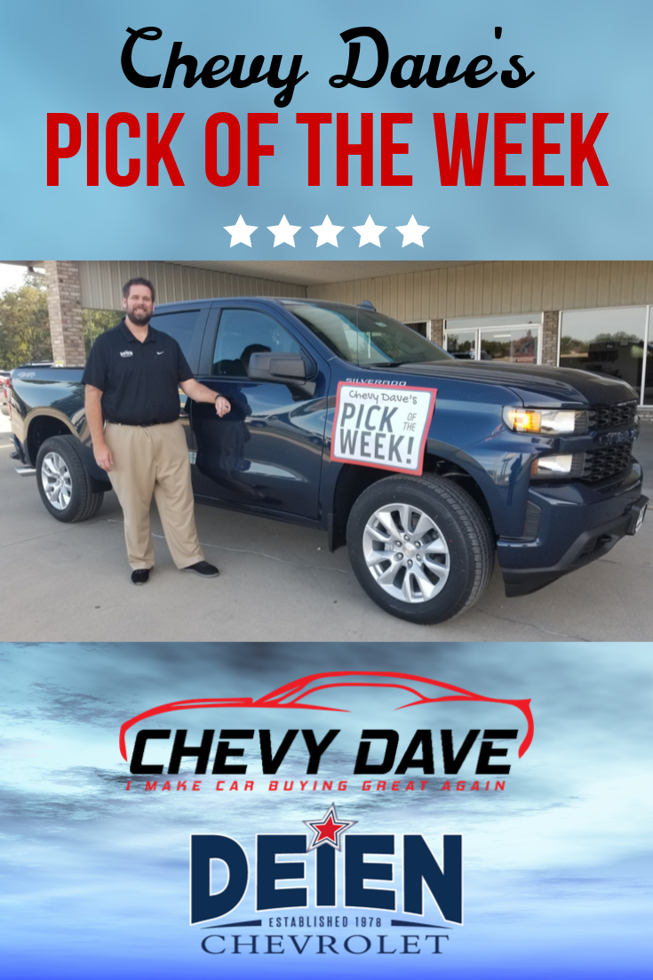 Chevy Dave S Pick Of The Week 2019 Silverado 1500 Crew 4wd Custom