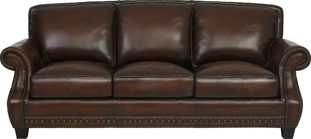 Cindy Crawford Home Calvano Brown Leather Sofa Cindy Crawford Home Sofa Brown Leather Sofa #rooms #to #go #living #room #sets #leather