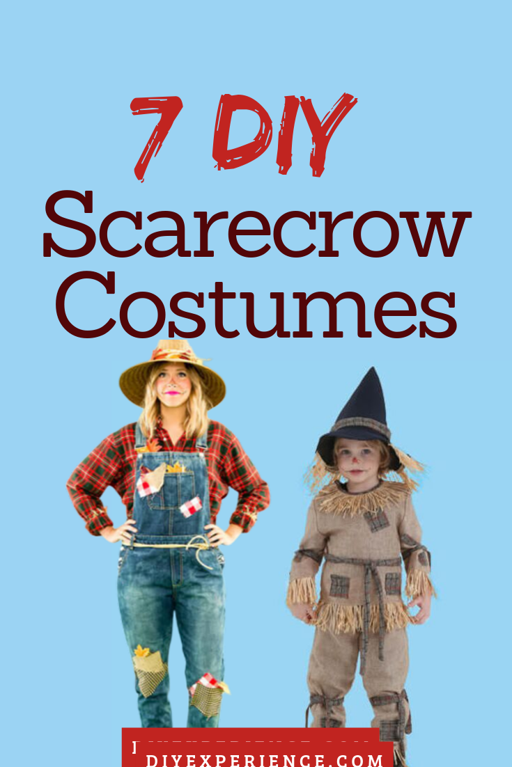 It's that time of year to start planning out what your Halloween costume is going to be. If you are still unsure about what you want to wear this Halloween, perhaps you'd like to try one of these easy DIY scarecrow costumes. Not only are they super easy to make, but they are also extremely adorable. Check them out! #DIYScarecrowCostumesIdeas #DIYScarecrowCostumesEasy #scarecrowcostumediy It's that time of year to start planning out what your Halloween costume is going to be. If you are still uns #scarecrowcostumediy