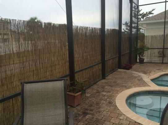Backyard X Scapes 6 Ft. H X 16 Ft. L Reed Fencing