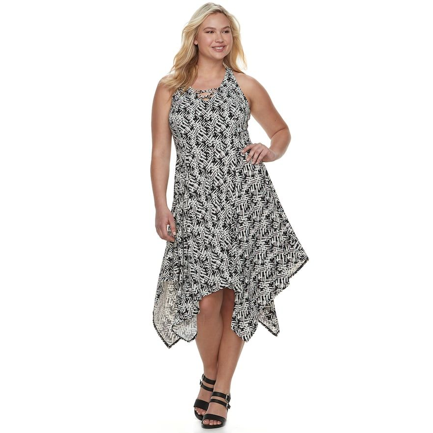 Juniors\' Plus Size Candie\'s® Lace-Up Maxi Dress | Products | Junior ...