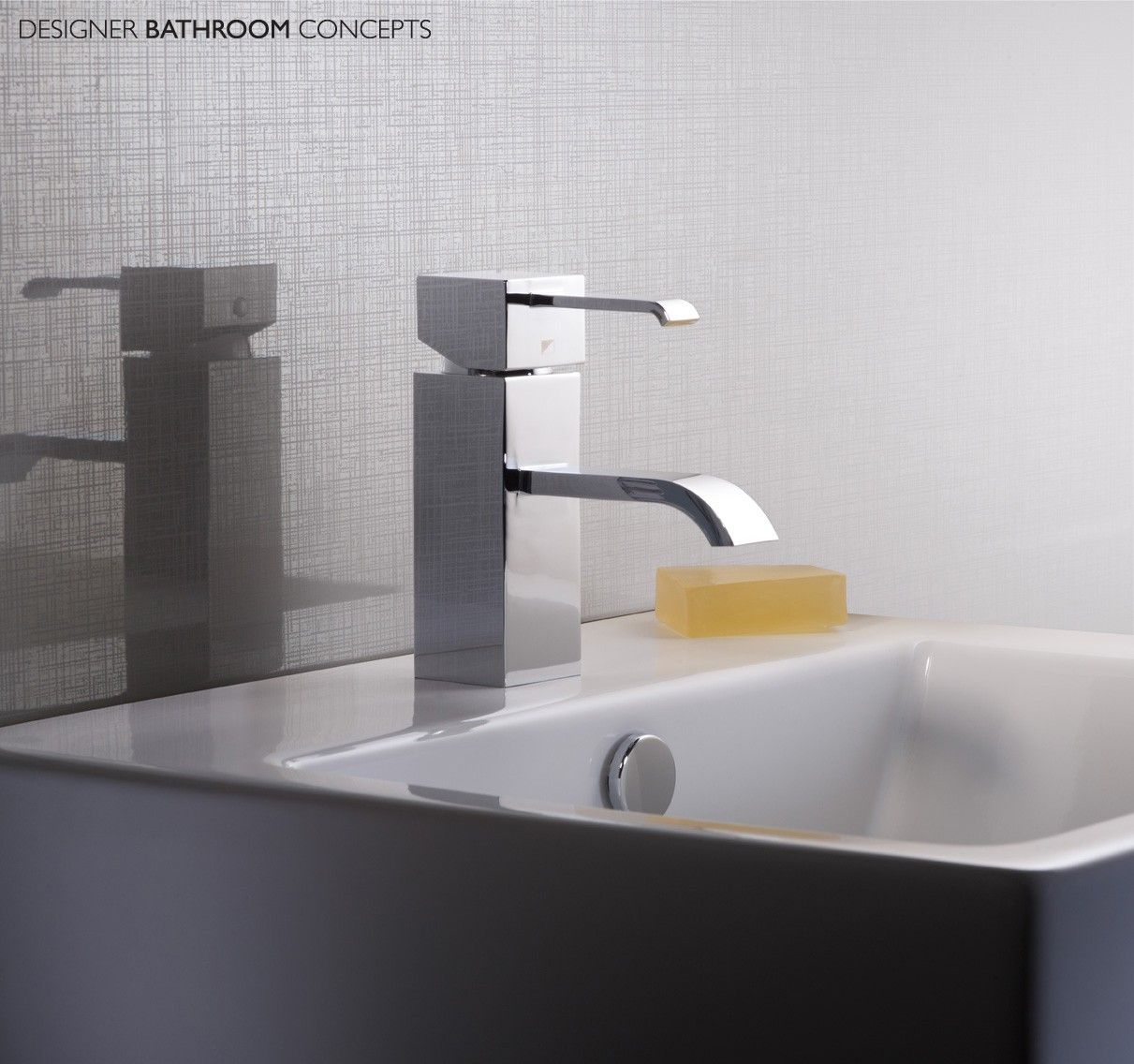Paradox Designer Basin Mixer With Click Waste from ...