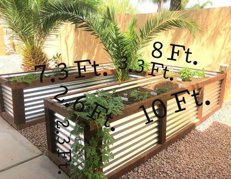 Metal Raised Garden Beds Unique