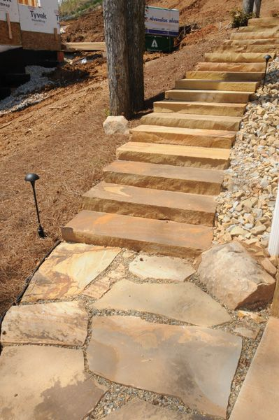 Flagstone Walkway Design Ideas
