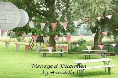 Mariage champetre pacs pendaison de cr maill re pinterest mariage - Deco mariage bucolique ...